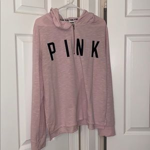 Vs pink sweatshirt.